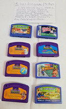 Leapster By Leapfrog Lot Of 8 fun learn Games 1st - 3rd grade 5 - 8 year... - $19.79