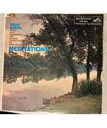 Tedd Smith, Fred Rous, Piano Orchestra - Meditations Vinyl LP Record - $5.93