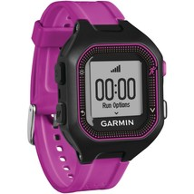 Garmin Forerunner 25 Gps Running Watch (small; Black And Purple) GRM0135320 - $137.46