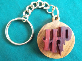 Harry Potter Keychain, Wizard Keyring, Harry Potter Gift, Handmade Wood ... - $18.00