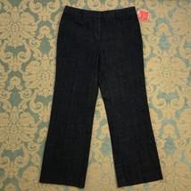 "Isaac Mizrahi Womens Sz 12 Jeans Blue Straight Denim Pants Classic 31"" I... - $21.73"