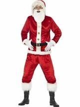Jolly Costume da Babbo Natale, con Giacca Cappuccio, Medio, Vestito Uomo - $41.37