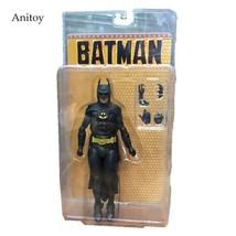 NECA 1989 Batman Michael Keaton 25th Anniversary PVC Action Figure... - $37.99