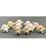 Lot of 10 Dr Who Adipose Figures Small Good Condition (19-785) - $31.30