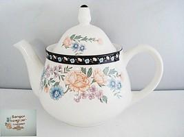 Sango Elizabeth Gray Claremore 8164 Teapot - $30.99