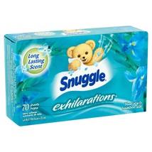 Snuggle Exhilaration Sheets Fabric Softener, Blue Iris, 70 Ct - $7.02