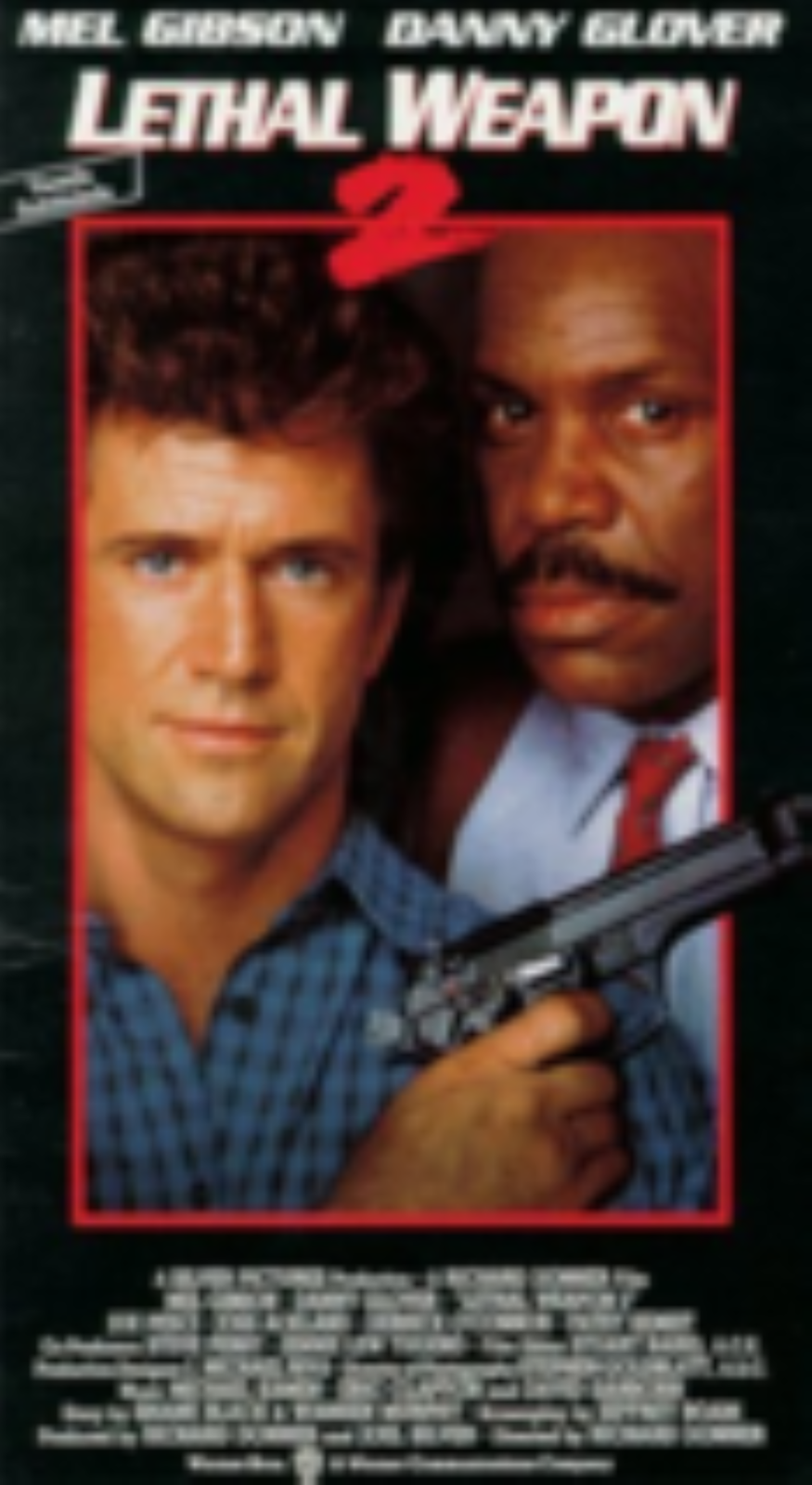 Lethal Weapon 2 Vhs