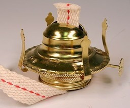 OIL LAMP BURNER / CHIMNEY HOLDERS Lamplight Farms Style M999 LOT OF 5 NEW!