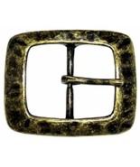 "Single Prong Center Bar Replacement Belt Buckle 1-1/2"" (38mm) wide - $8.95"