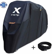 XYZCTEM Motorcycle Cover -Waterproof Outdoor Storage Bag,Made of Heavy Duty - £33.72 GBP