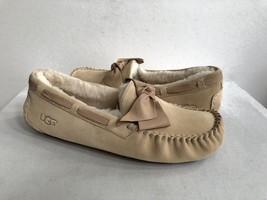Ugg Dakota Leather Bow Soft Ochre Shearling Slipper Us 12 / Eu 43 /UK 10.5 - $77.61