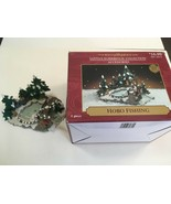 Hobo Fishing Santa's Workbench Collection Accessories 567-2613 - $25.00