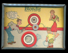 1946 Blondie & Dagwood Target Hand Held Game - $28.95