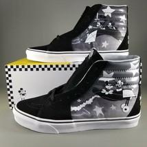 VANS x Disney SK8-HI Mickey Mouse Plane Crazy Shoes Size Mens 90th Anniv... - $139.95