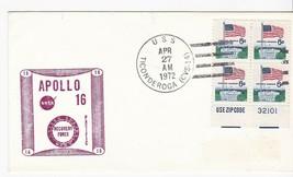 U.S.S. TICONDEROGA APOLLO 16 RECOVERY FORCE APRIL 27 1972 PACIFIC - $1.78