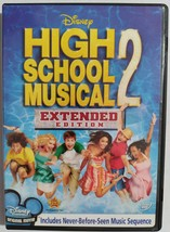 DVD  -  HIGH  SCHOOL  MUSICAL  2  ( EXTENDED  EDITION )  -  MOVIE - $3.00