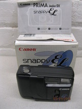 New Canon Snappy EL Prima Junior DX Date 35mm Point and Shoot Film Camera - $27.82