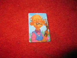 1993 - 13 Dead End Drive Board Game Piece: The Gardener Player Pawn - $1.00