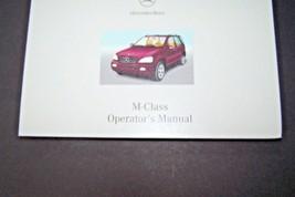 2002 Mercedes w163 m class ml owners manual book new original ml 55 amg ... - $17.81