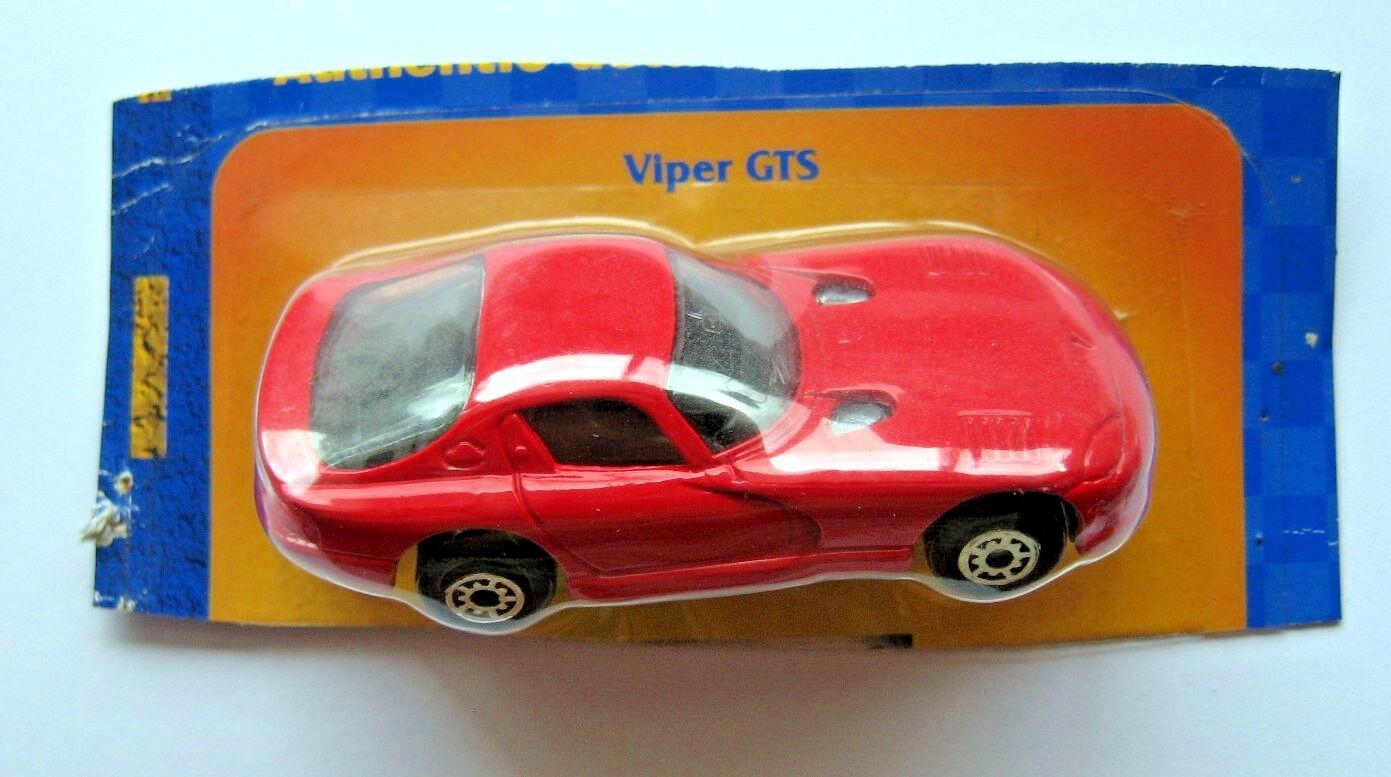 Maisto Dodge 1997 Viper GTS Coupe Daimler Chrysler Die Cast Metal, On Cut Card
