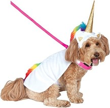 Rubie's Unicorn Cape with Hood and Light-Up Collar Pet Costume, Large - €25,93 EUR