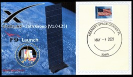 SpaceX launch of Starlink L25 (V2), Kennedy Space Center FL, May 04, 2021 - $3.00