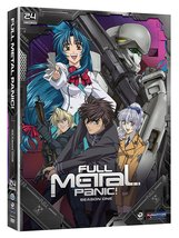 Full Metal Panic! Season One Episodes 1-24 3 disc DVD set