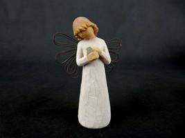 """""""Angel of Healing"""", Wire Wings, DEMDACO, Hand-Painted Susan Lordi Replic... - $24.45"""