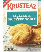 Krusteaz Snickerdoodle Cookie Mix, 17.5-Ounce Boxes (Pack of 2) - $11.87