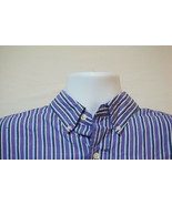 Chaps Ralph Lauren Midweight Button-Front Shirt, Excellent, Men's Large ... - $11.74