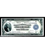 """FR 729 US $1 1918 FEDERAL RESERVE NOTE """"ALMOST UNC"""" LOOKS UNC! """"FLYING E... - $495.00"""