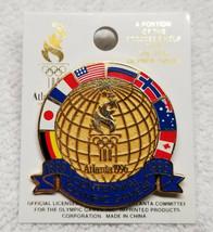 1996 Officially Licensed Atlanta Olympics Centennial 100 Year Pin - $3.95