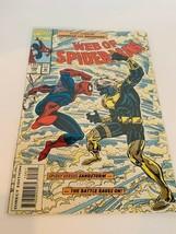 Comic Book vtg Marvel Web Of Spider-Man 108 Sandstorm #108 January Sandman Jan - $12.82