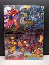 Marvel Metal 1995 Inaugural Edition Uncut Promo Sheet - $12.38