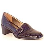 LIZ CLAIBORNE 6427983 - JESTER Loafer Pump Black Croc Print - Women Size... - $32.52