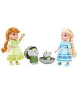 Disney Frozen Petite Surprise Trolls Gift Set w Anna & Elsa NIB/Sealed - $24.99