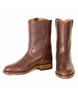 Ranch Road Boots Bexar Brown Men's Leather Cowboy Boot 9.5 US - $357.05