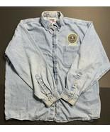 Men's Size XL Lightweight Jean Denim Jacket Embroider Patch FBI Bureau A... - $342.95
