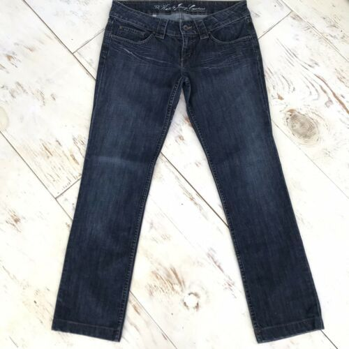 """Juicy Couture """"The Kate"""" Skinny Straight Leg Stretch 34 x 30 Size 8 image 7"""