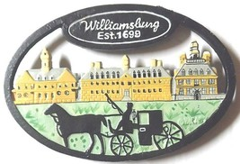 Trivet Cast Iron Amish Horse Buggy Williamsburg VA Virginia  - $18.09