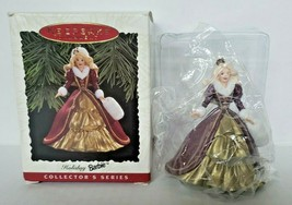 1996 Barbie Hallmark Keepsake Christmas Ornament Holiday Barbie #4 New B... - $12.99