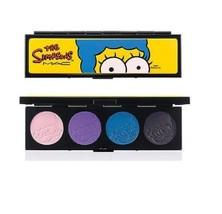 MAC Marge's Extra Ingredients Eye Shadow Quad Simpsons Heart PB&J Vacuum... - $30.74