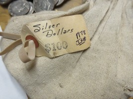 1978 , Eisenhower Dollars , Lot of 10, Uncirculated , Original Mint Bag - £31.72 GBP