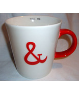 Starbucks You & Me Coffee Mug 2013 Valentine Love Red White Ceramic 12 oz - $19.99