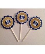 Mlb Kansas City Royals Cupcake Toppers - Royals Cupcake Decor - Royals B... - $12.00