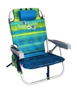 Tommy Bahama Backpack Cooler Beach Chair (Green Stripe) ***NEW*** - £53.10 GBP