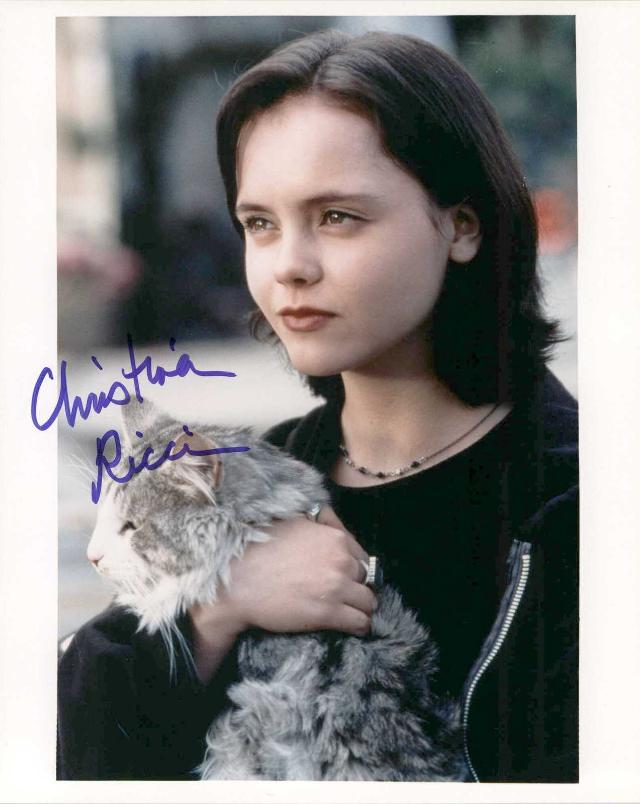 Primary image for Christina Ricci Signed Autographed Glossy 8x10 Photo