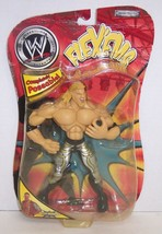 "NEw! 02 Jakk's Pacific Flex'ems ""Chris Jericho"" Poseable Action Figure W... - $14.84"