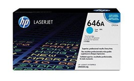 HP 646A (CF031A) Cyan Original Toner Cartridge for HP Color LaserJet Ent... - $271.60