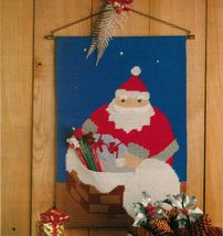 Xmas SANTA'S COMING Wall Hanging Festive Place ... - $7.99